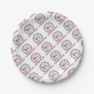 MCYC star logo party supplies 7 Inch Paper Plate