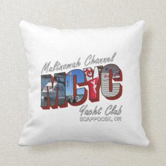 MCYC throw pillow