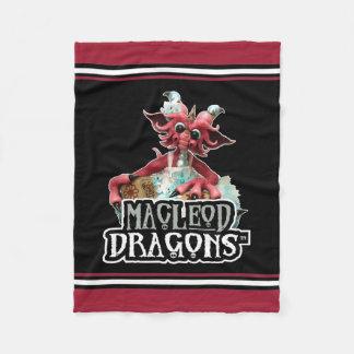 MD Baby Blocks Dragon Fleece Blanket