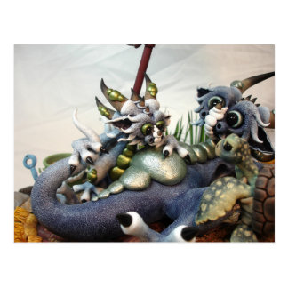 MD Beach Dragons (Closeup) Postcard
