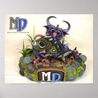 """MD Cuddlefish 11""""x14"""" Mini Poster"""
