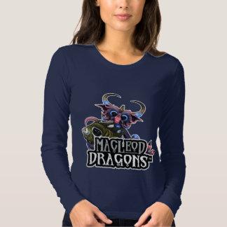 MD Cuddlefish Dragon AA Long Sleeve T, Navy Tee Shirt