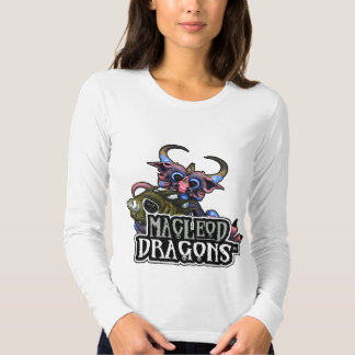 MD Cuddlefish Dragon AA Long Sleeve T, White T-shirt