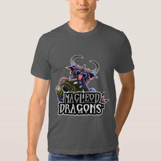 MD Cuddlefish Dragon AA T-Shirt, Asphalt Tshirt