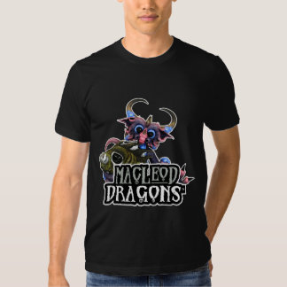MD Cuddlefish Dragon AA T-Shirt, Black T Shirts