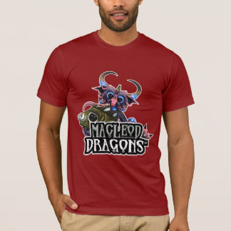 MD Cuddlefish Dragon AA T-Shirt, Cranberry T-Shirt