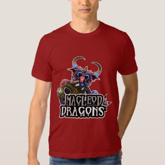 MD Cuddlefish Dragon AA T-Shirt, Cranberry T-shirts