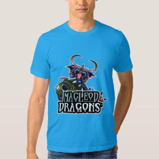 MD Cuddlefish Dragon AA T-Shirt, Teal Tshirt