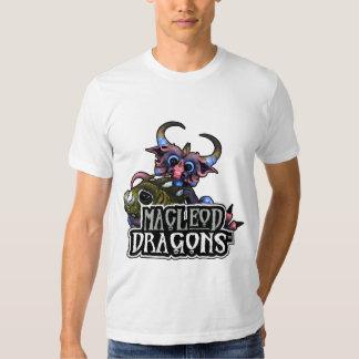 MD Cuddlefish Dragon AA T-Shirt, White Shirts