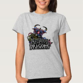MD Cuddlefish Dragon Hanes T, Gray Shirt