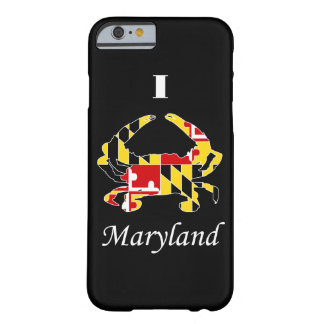 MD Flag Crab iPhone 6 case Barely There iPhone 6 Case