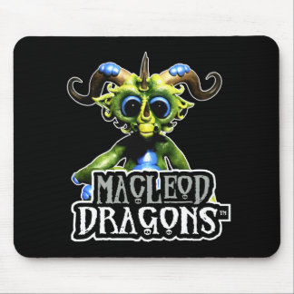 MD Green Dragon Mousepad