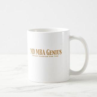 MD MBA Genius Gifts Basic White Mug