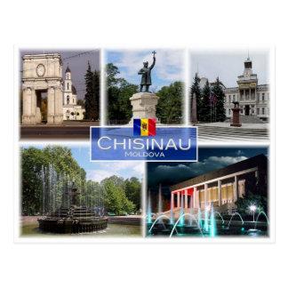 MD Moldova - Chisinau - Postcard