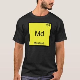 Md - Mustard Funny Chemistry Element Symbol Tee