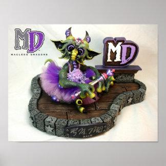 "MD Princess Dragon 11""x14"" Mini Poster"