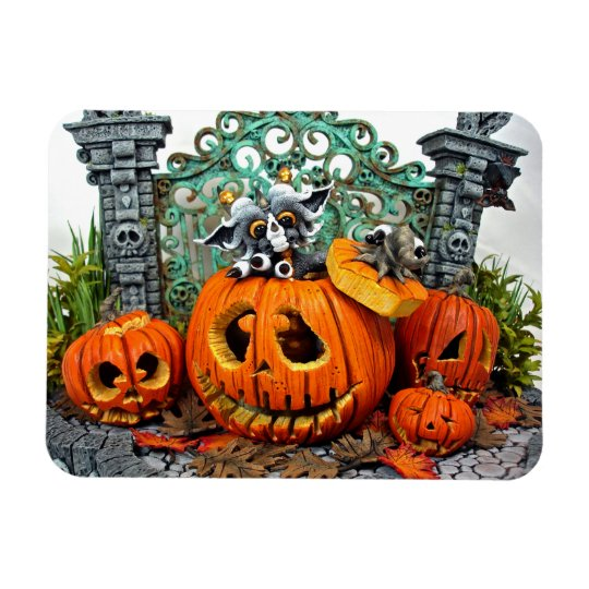 "MD Pumpkin Dragon 3"" x 4"" Photo Magnet"