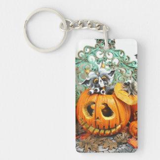 MD Pumpkin Dragon Double-sided Acrylic Keychain
