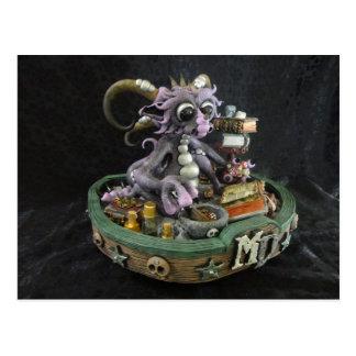 MD Purple Dragon Postcard