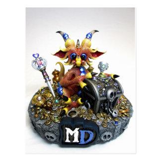 MD Treasure Dragon Postcard