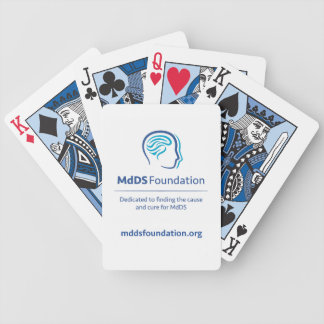 MdDS Awareness Bicycle Playing Cards