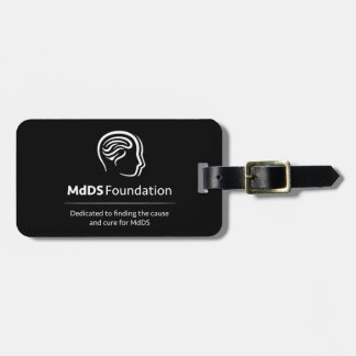 MdDS Awareness Travel Luggage Tag