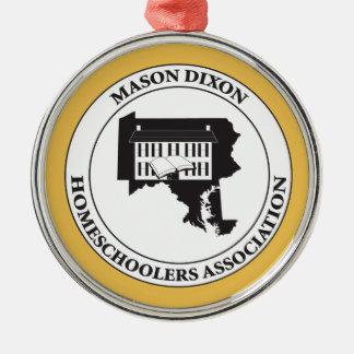 MDHSA - Mason Dixon Homeschoolers Assc Logo Christmas Ornament