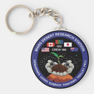 MDRS Crew 188 Keychain