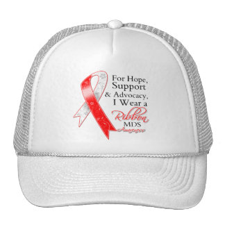 MDS Support Hope Awareness Mesh Hats