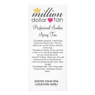 MDT Tan Sales and Instruction Card 2011 Rack Card Design