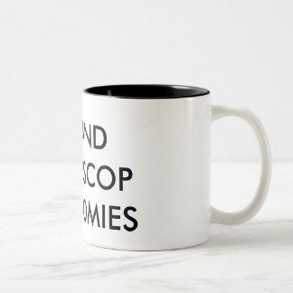 ME AND@CAPSCOP ARE HOMIES Two-Tone MUG