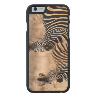 Me and mommy carved® maple iPhone 6 slim case