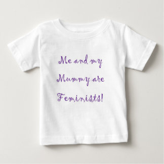 Me and Mummy are feminists bodysuit