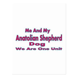 Me And My Anatolian Shepherd Dog Postcards