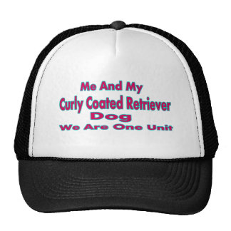 Me And My Curly Coated retriever Dog Trucker Hat