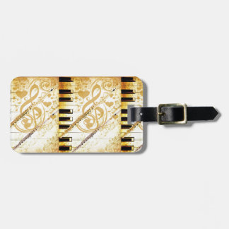 Me and my Flutes_ Luggage Tag