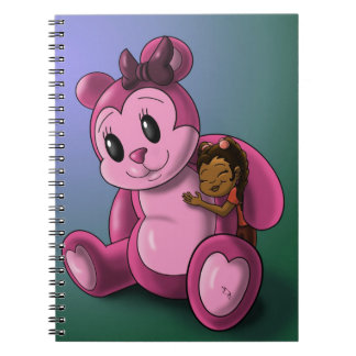 """""""Me and My Teddy"""" Notebook Spiral Note Books"""