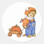 Me and My Wagon Round Sticker