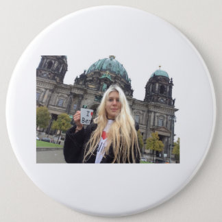 Me at the Berliner Dom!!!!! 6 Cm Round Badge