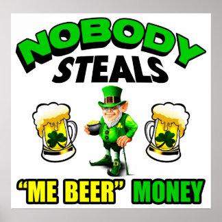 Me Beer Money Print