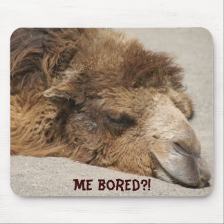 Me bored?! mouse pad