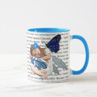"""ME/CFS"" Chronic Fatigue Angel Fairy Girl Mug"