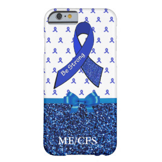 ME/CFS Chronic Fatigue Awareness Ribbon Phone Case