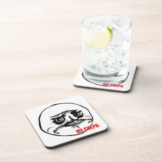 Me Culpa - set of 6 Cork Coasters