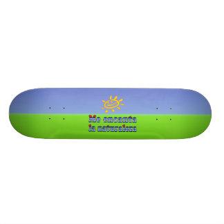 Me Encanta la Naturaleza - I Love Nature in Cuban Skate Board Decks