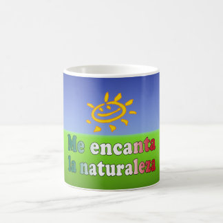 Me Encanta La Naturaleza I Love Nature in Mexican Coffee Mug