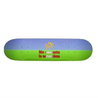 Me Encanta la Naturaleza - I Love Nature Peruvian Skate Boards