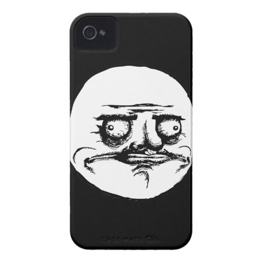 Me Gusta Face iPhone 4 Case