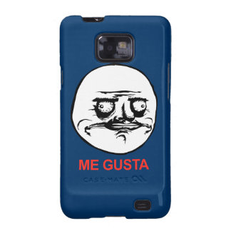 Me Gusta Face Meme Galaxy SII Case