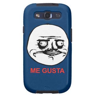 Me Gusta Face Meme Samsung Galaxy S3 Cases